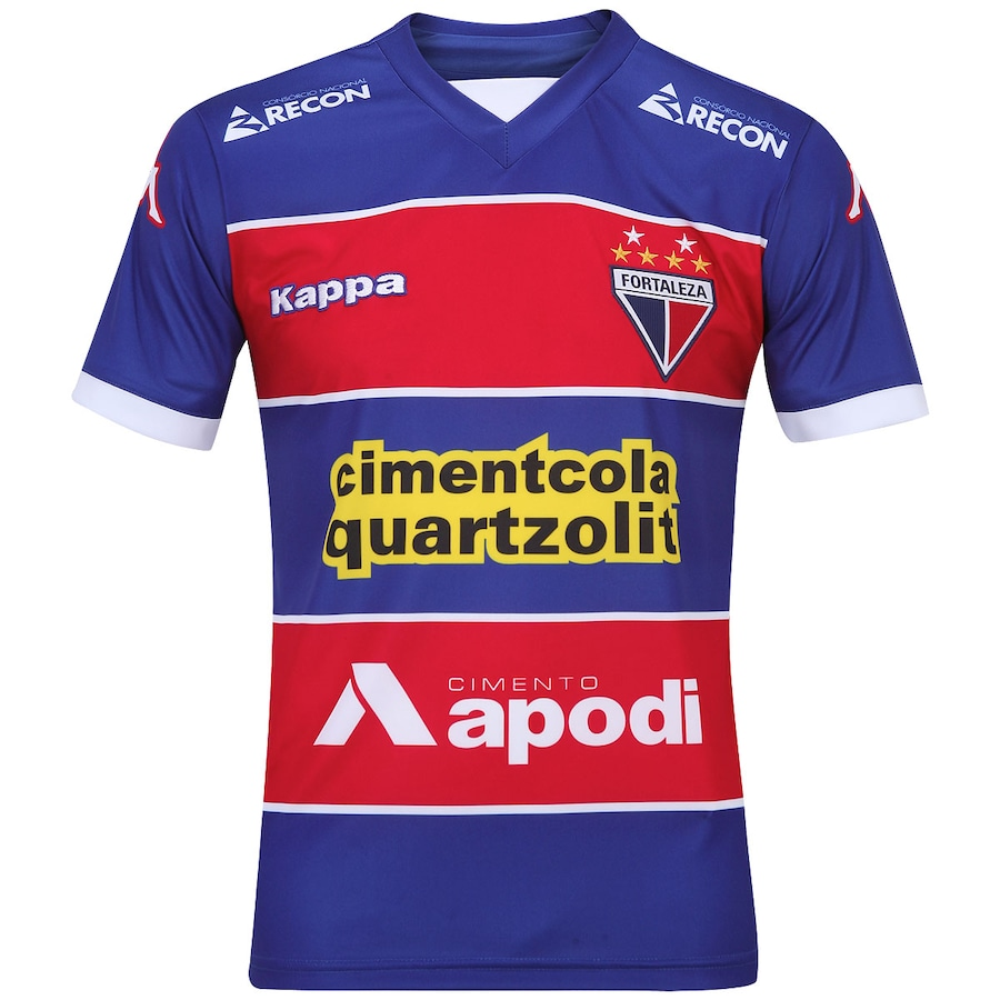 Camisa Kappa Fortaleza I 2014 s nº 4005f78d28448