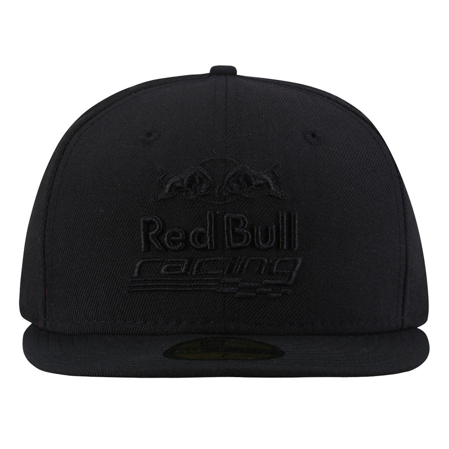 Boné Aba Reta New Era Red Bull Blackout Racing - Fechado aed59ec96ea