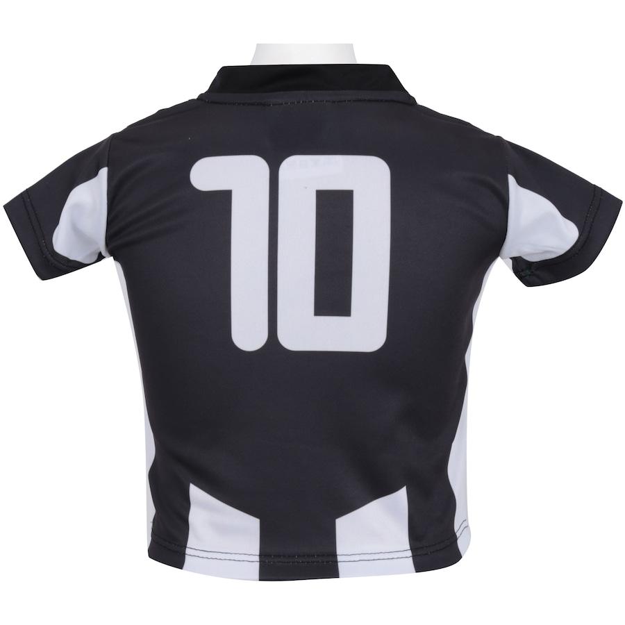 6dba60afa3d85 ... Infantil Kit de Uniforme de Futebol do Botafogo para Bebê  Camisa +  Calção ...
