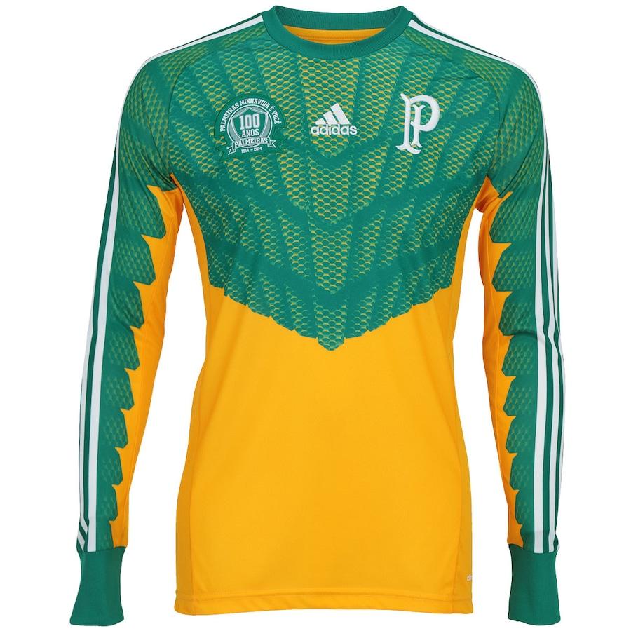 Camisa de Goleiro Manga Longa Adidas Palmeiras 1914 c496f462b842e