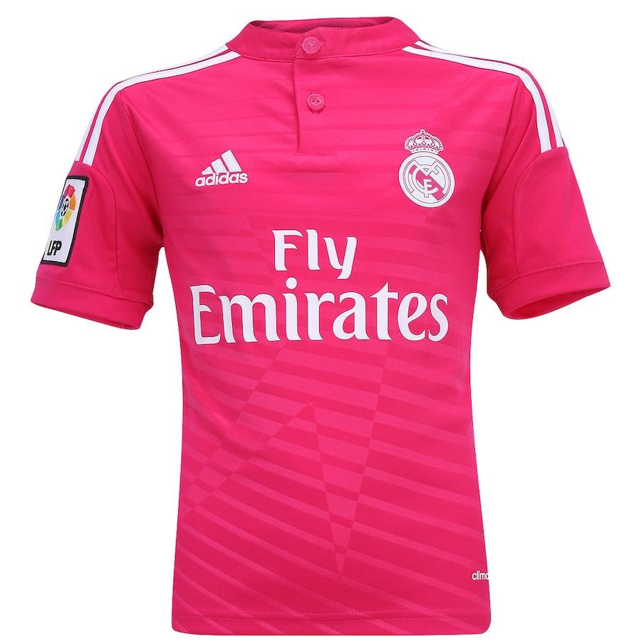 Camisa Adidas Real Madrid II 2014-2015 s nº Infantil c0b9aaecf6eff