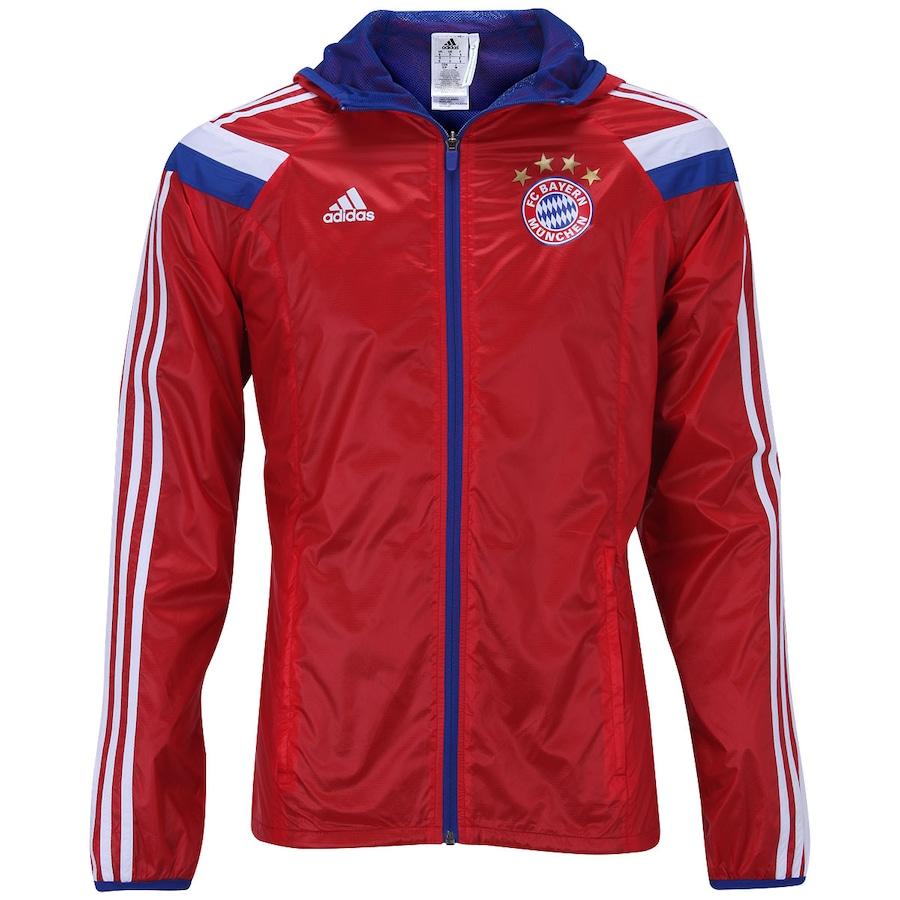 9035068b7a03d Jaqueta Adidas Bayern de Munique Hino 15 Masculino