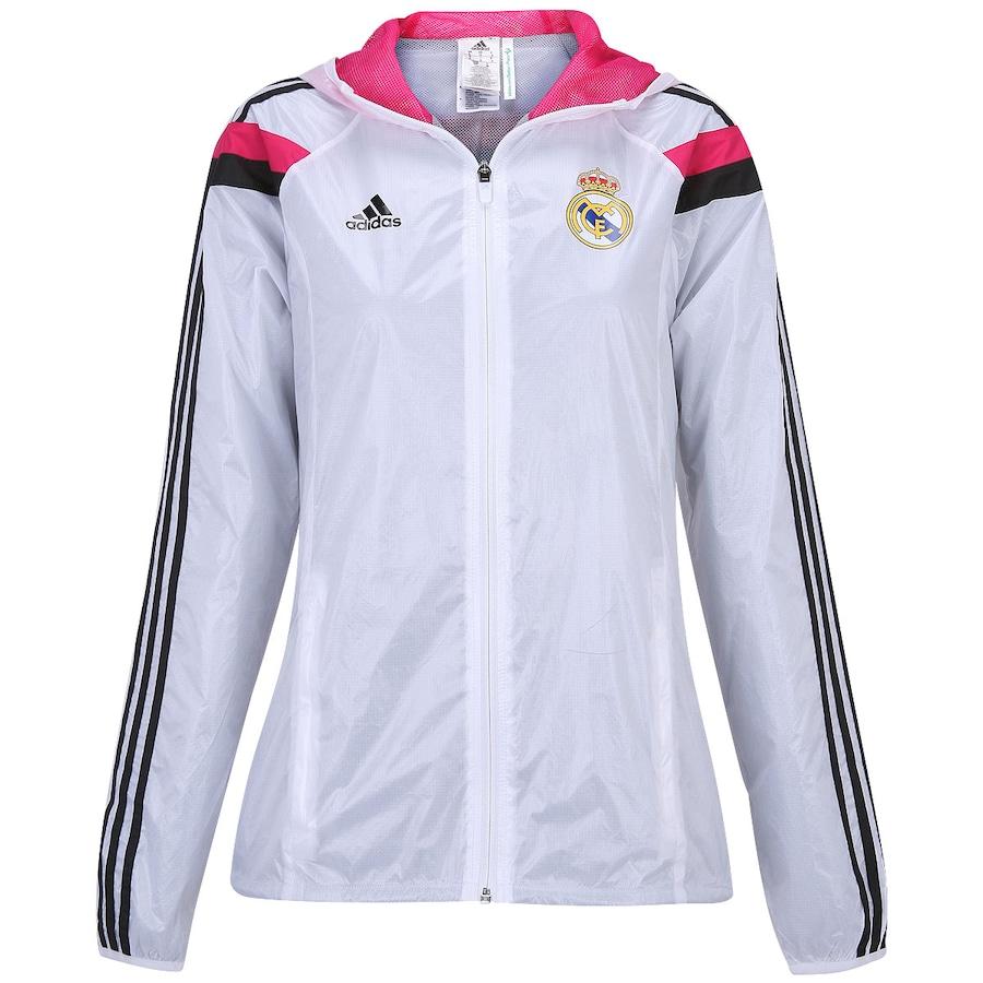 1209043571 Jaqueta Adidas Hino Real Madrid Masculina