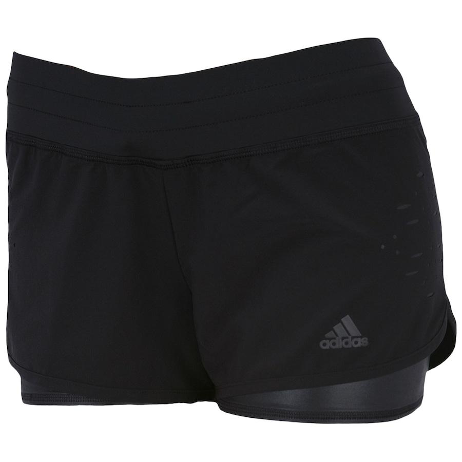 Short Duplo Adidas Spower – Feminino 0d98af75ea4f0