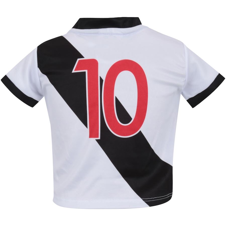 ... Kit de Uniforme de Futebol do Vasco da Gama para Bebê  Camisa + Calção  ... 3cda652827084