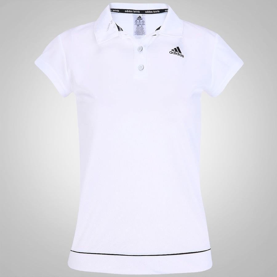 5a8f80dbaa Camisa Polo Adidas Galaxy Feminina