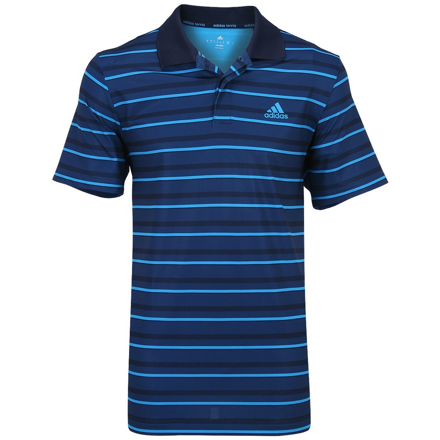 Camisa Polo Adidas Listras 2 3680d592f2a81