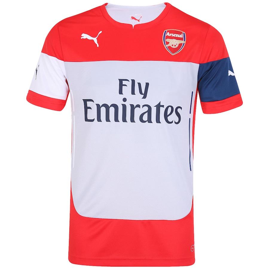 Camisa de Treino Puma Arsenal 2014-2015 d325397d35709