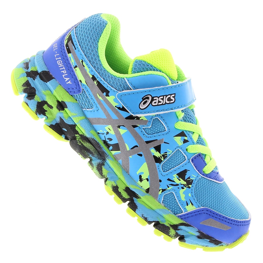 4bfabfe615a Tenis Asics Gel Lightplay PS - Infantil
