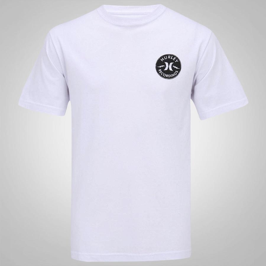 4d4ef28effee4 Camiseta Hurley Recordings Masculina