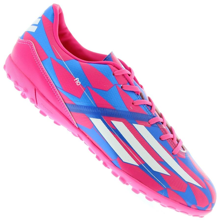 Chuteira Society Adidas F10 TF 8bde4c07f66ea