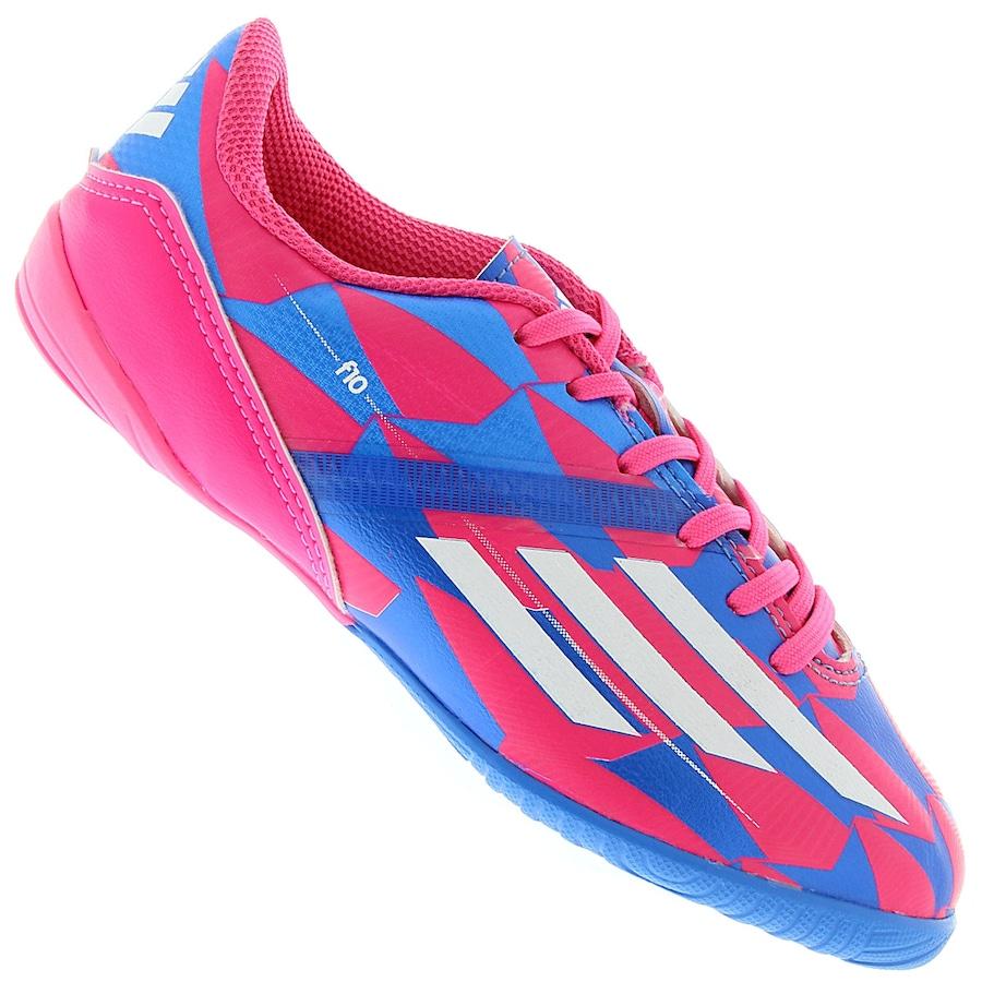 Chuteira de Futsal Adidas F10 In - Infantil a9a9589c697a0