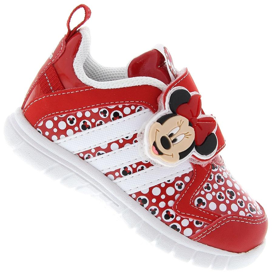 Tênis Adidas Disney Minnie CF Infantil 328b172bad27d