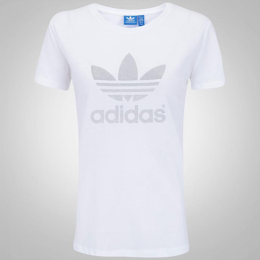 eeee2499fe0 Camiseta Adidas Trefoil Feminina