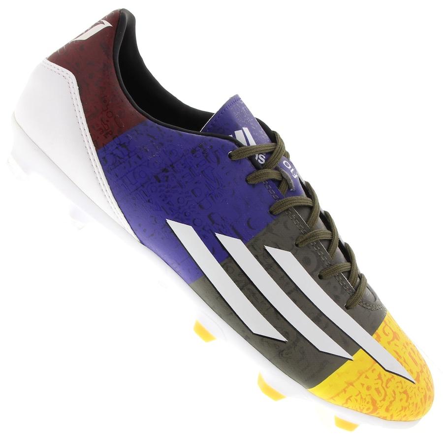 36162fd1aa Chuteira Do Messi Campo Adidas F10 FG UCL