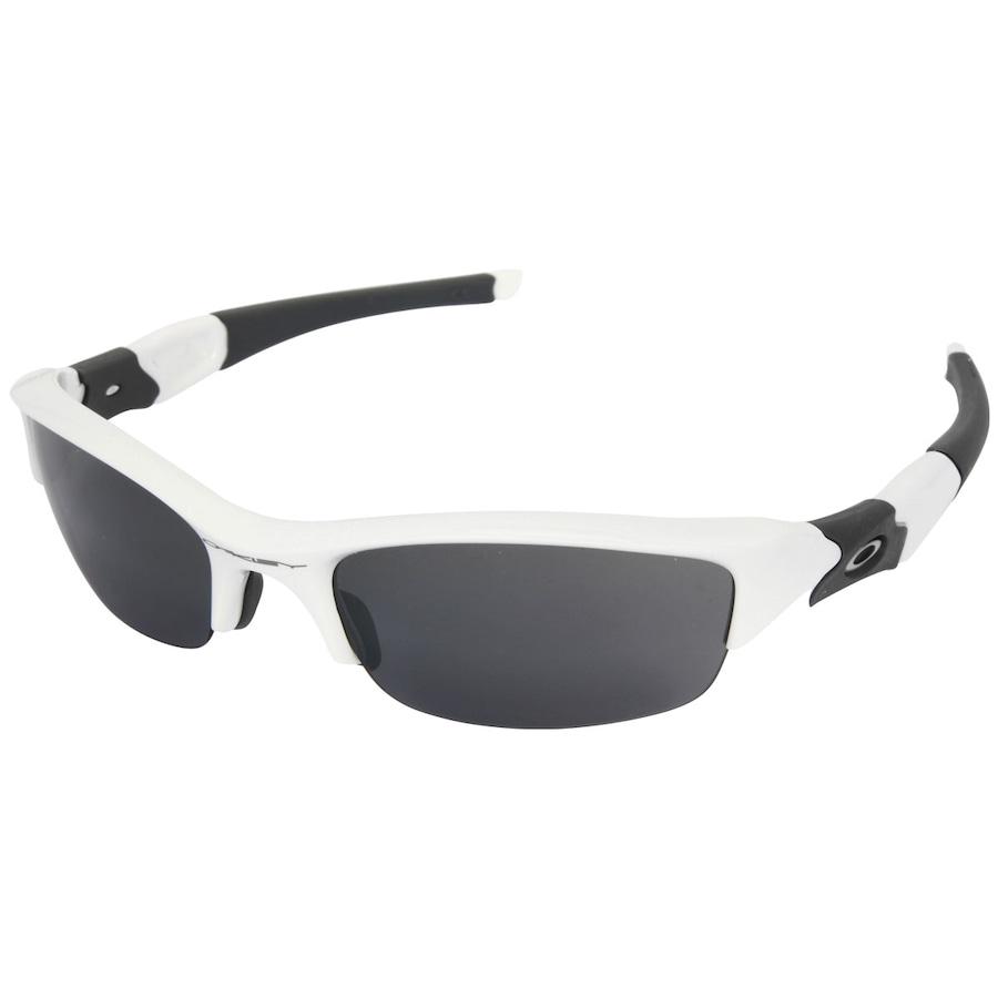 Óculos de Sol Oakley Flak Jacket Polished Iridium - Unissex 29297b3a68