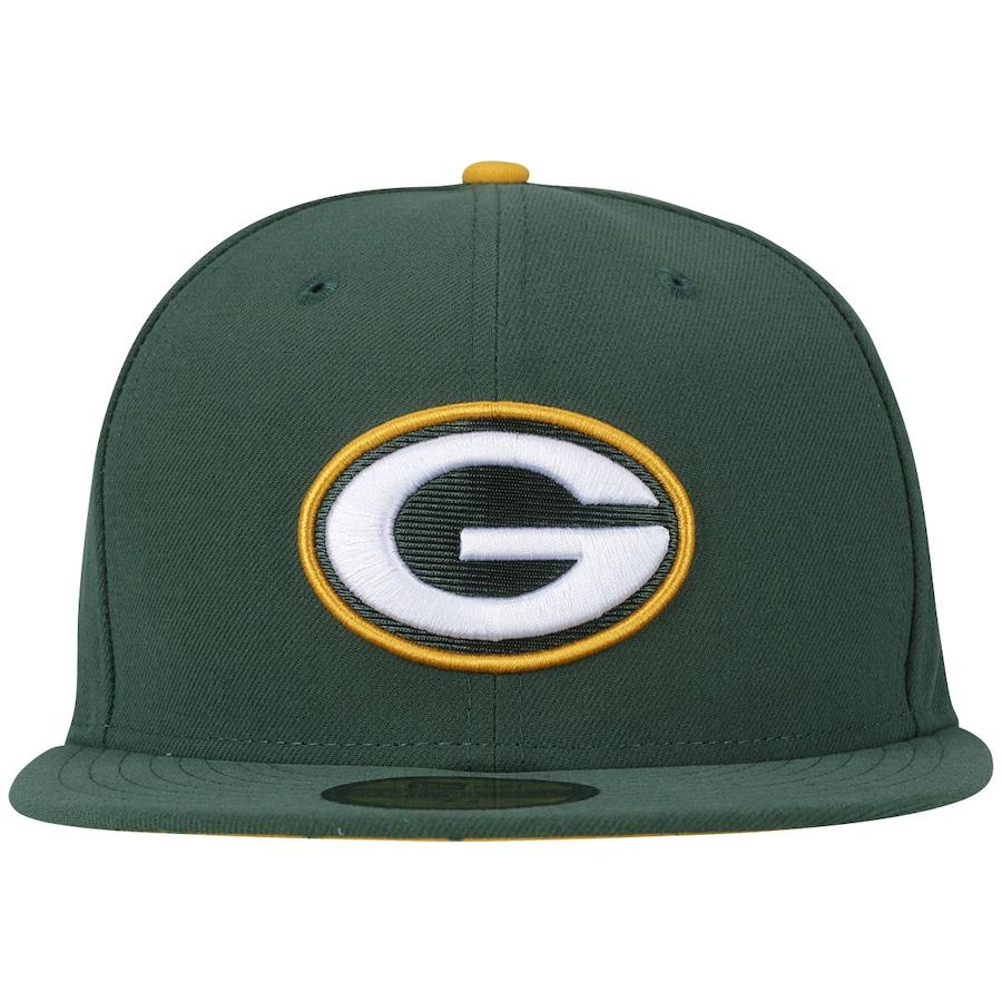 Boné Aba Reta New Era Green Bay Packers NFL Game - Fechado 88ccc4e05f2