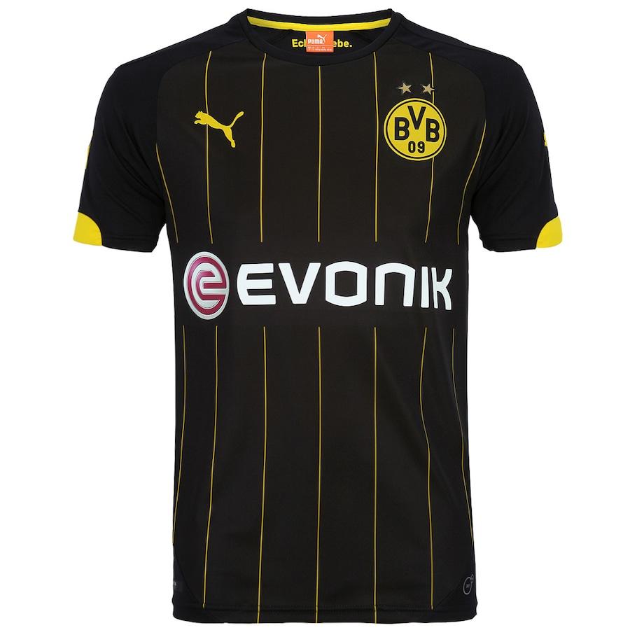 2917c6a029 Camisa Puma Borussia Dortmund II 2014-2015 s nº