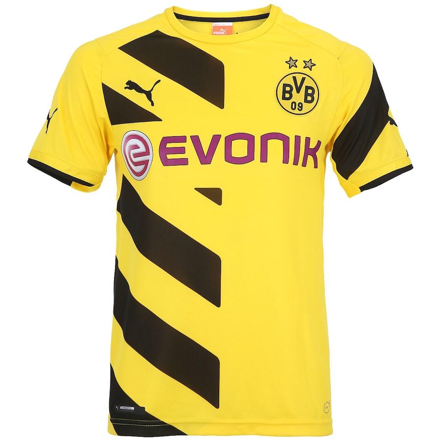 b6f0296cff Camisa do Borussia Dortmund I 2014-2015 s nº Puma