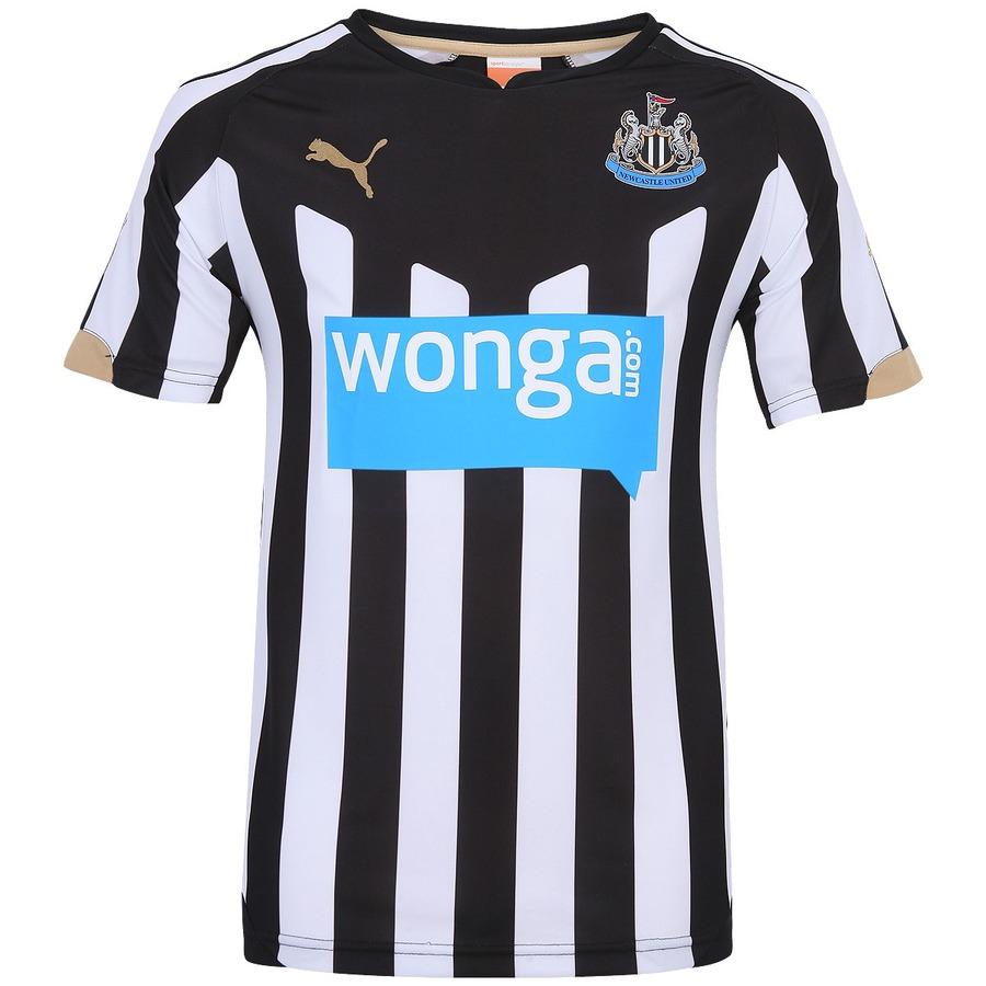 b578976efa Camisa Puma Newcastle United I 2014-2015 s nº