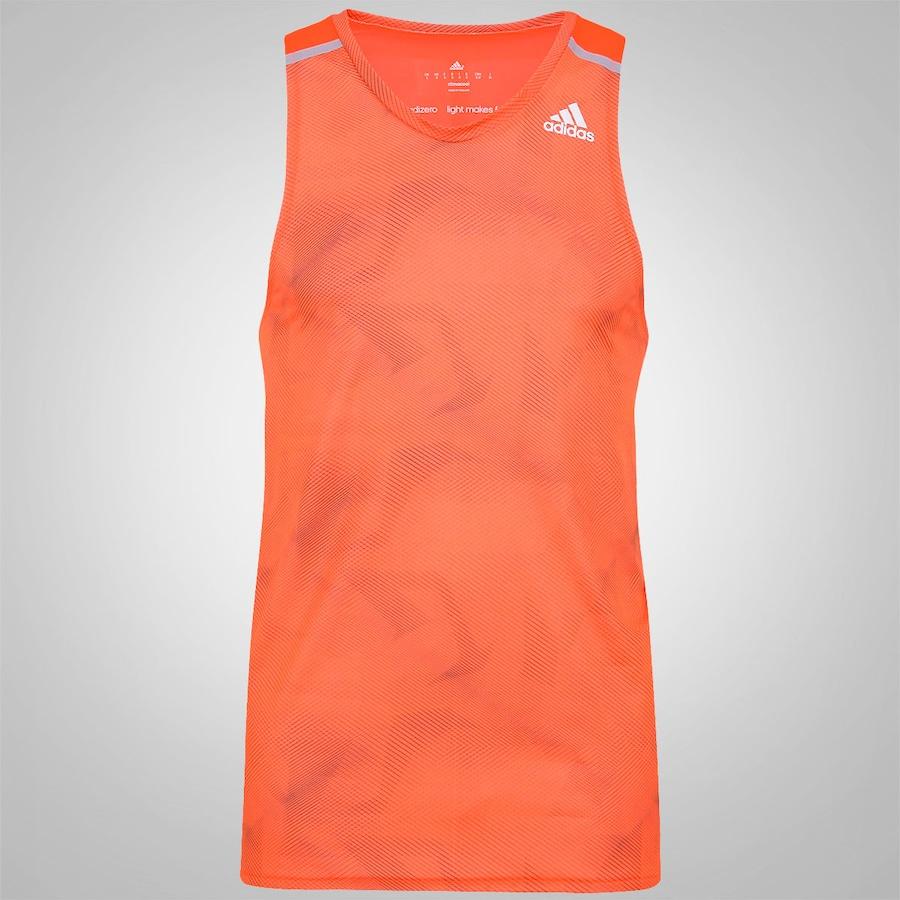 Camiseta Regata Adidas Adizero - Masculina 70b7e4a97377f
