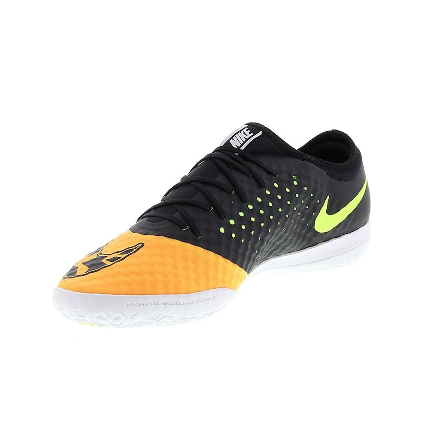 Chuteira de Futsal Nike Elástico Finale III IC d091cc71b4855