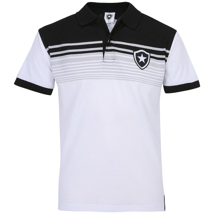 Camisa Polo Botafogo Botões Masculina fe86fbaf7bf34