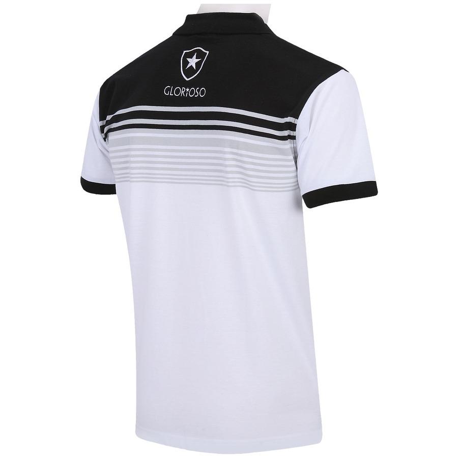 ... Camisa Polo Botafogo Botões - Masculina 46dbca8b1dfea