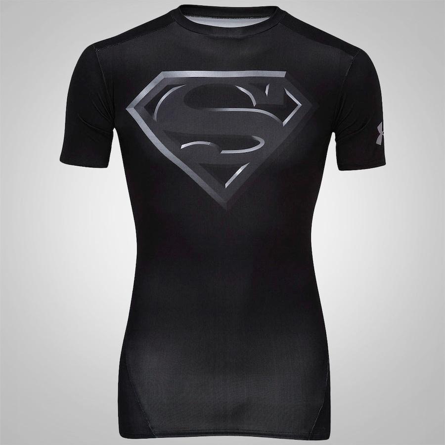 Camiseta de Compressão Under Armour Super Homem - Masculin 70bc75c60f797
