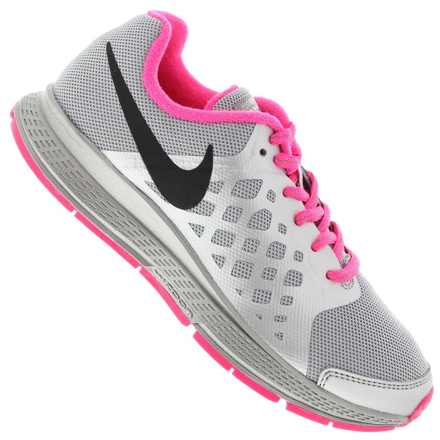 d605cdb2d23 Tênis Nike Zoom Pegasus+ 31 Flash Feminino (GS) - Infantil