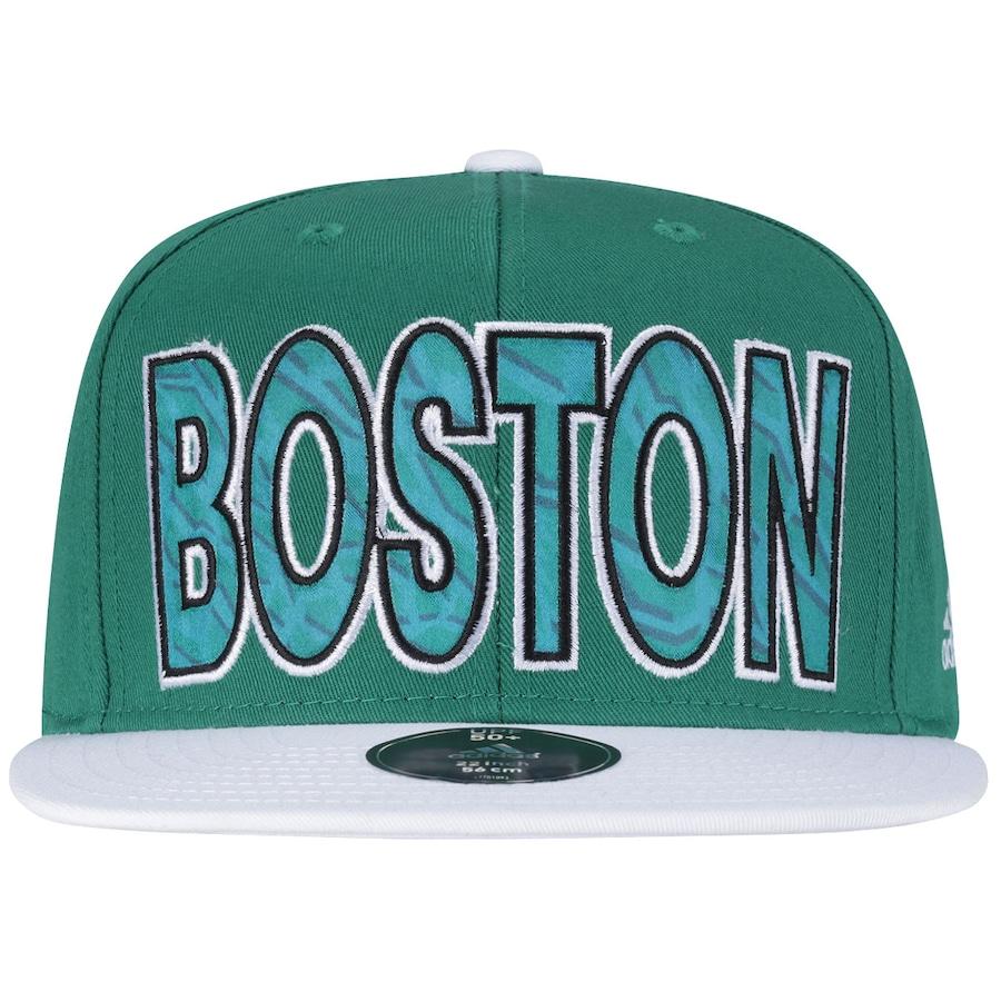Boné Aba Reta adidas Boston Celtics Logo Mascote - Snapback 93e59c6d730