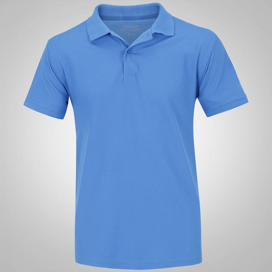 Camisa Polo Oxer Básica Terry - Masculina 07a91a3a6f