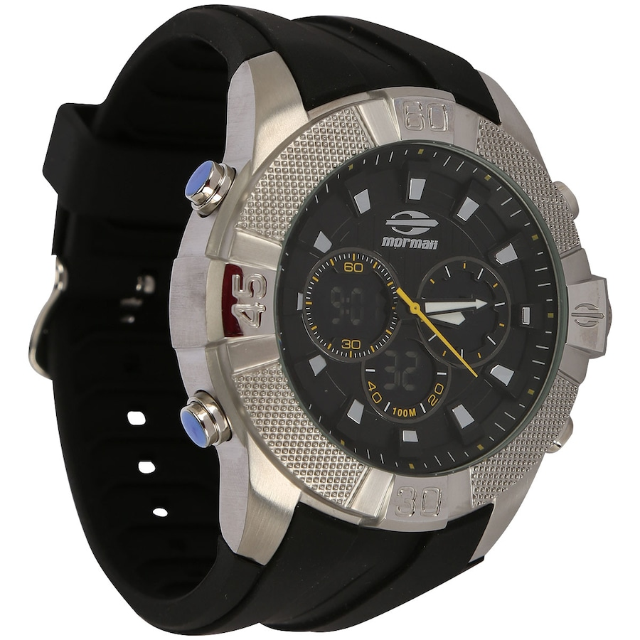 Relógio Masculino Analógico Digital Mormaii MOQG158AA 2966be88d8