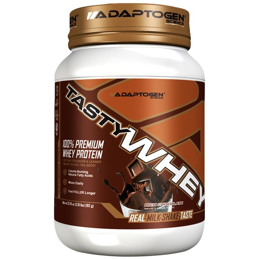 2539f3564 Tasty Whey – 909 g – Sabor Chocolate - Adaptogen Science