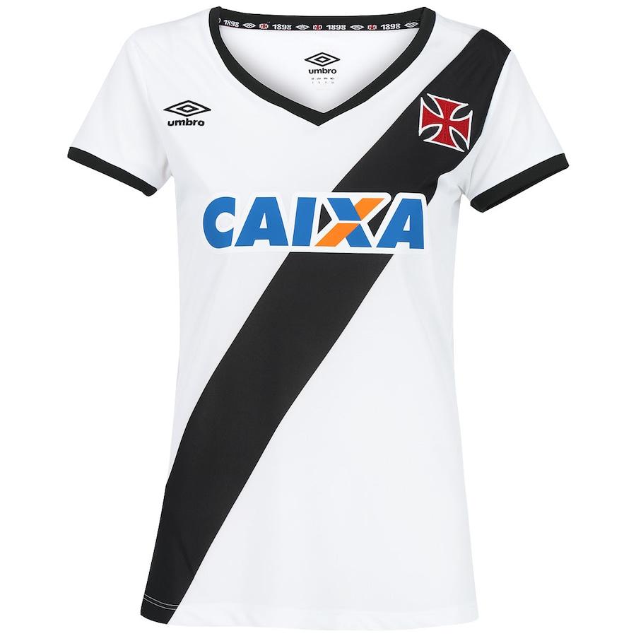 c67ee653e3818 Camisa Umbro Vasco da Gama II 2014 s nº Feminina
