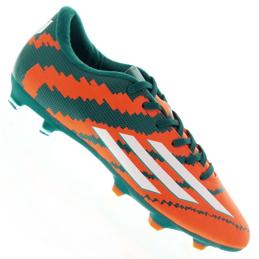695f5e9215 Chuteira do Messi Campo Adidas F10 FG SS15