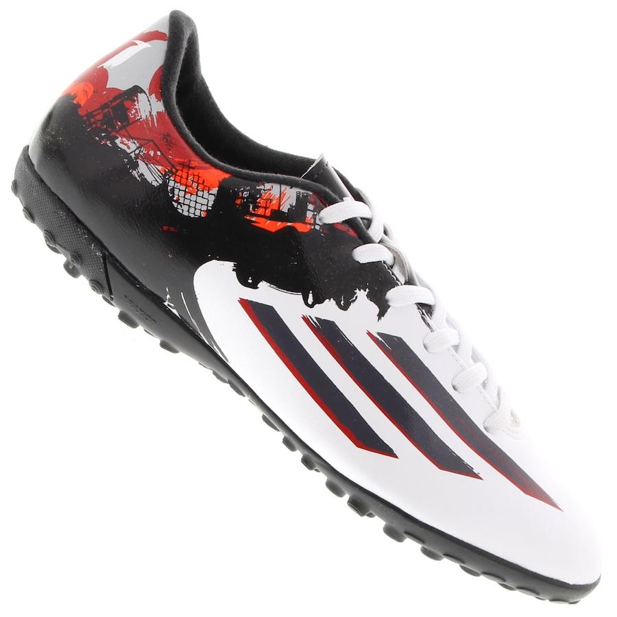 06cdd1bc93 Chuteira do Messi Society Adidas F10 TF