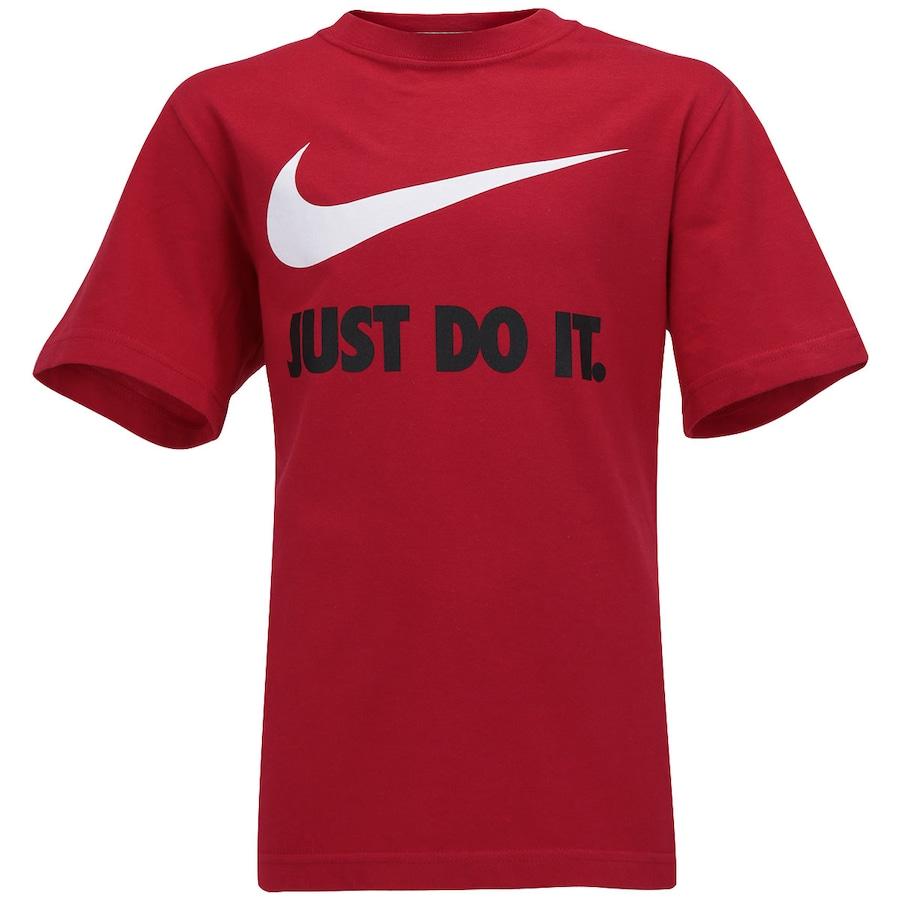 Camiseta Nike Swoosh Infantil 122de6d23c0f8