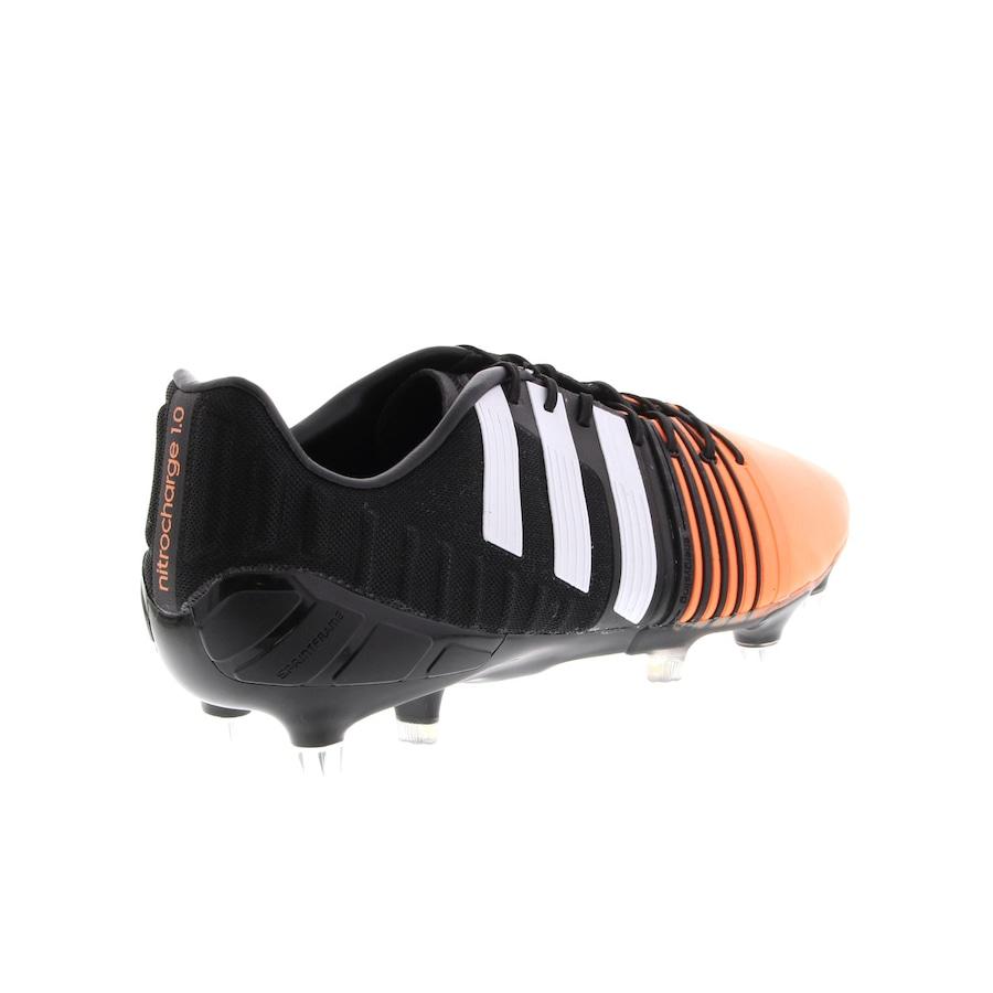 b05b0c79ec830 Chuteira de Campo Adidas Nitrocharge 1.0 SG