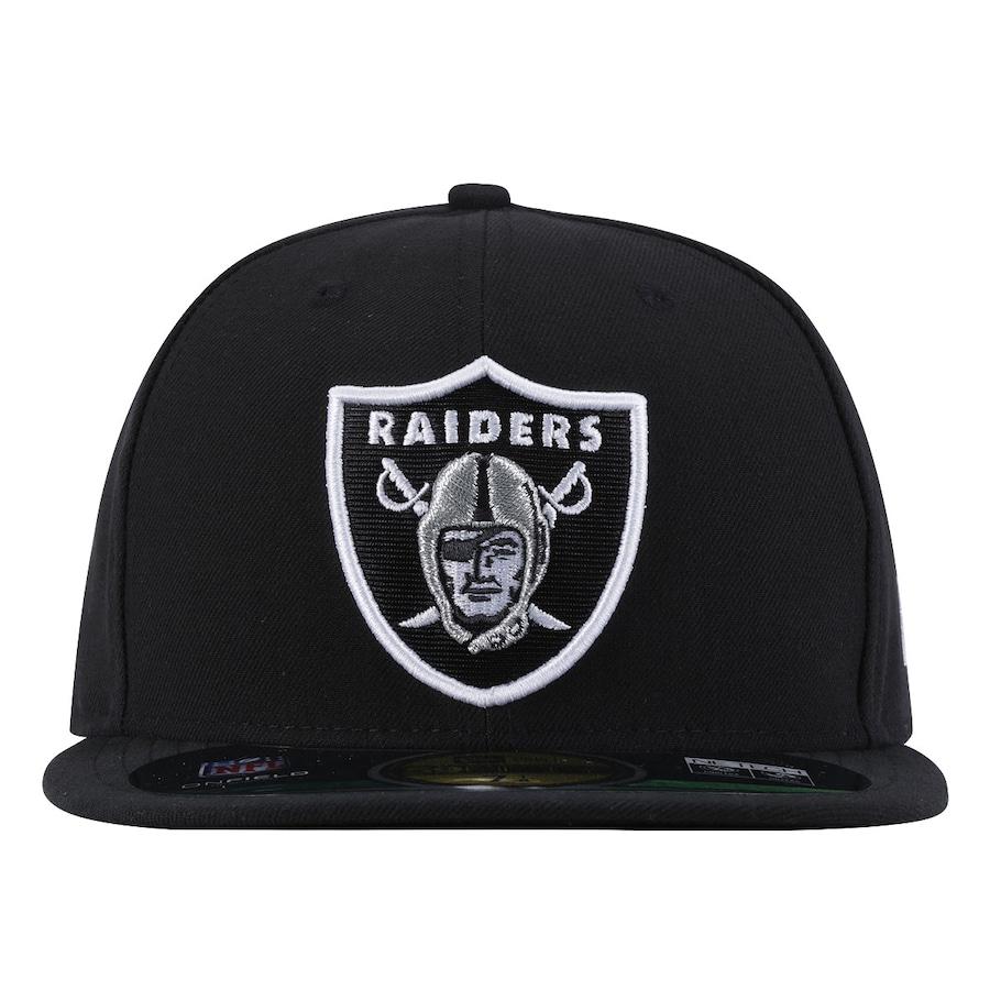 Boné Aba Reta New Era NFL Oakland Raiders - Fechado ef1d47be042