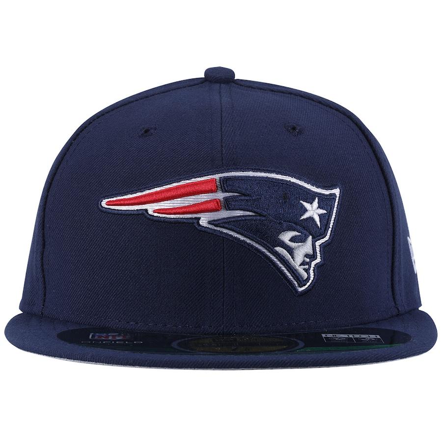 30c255b0414a5 Boné Aba Reta New Era NFL New England Patriots - Fechado