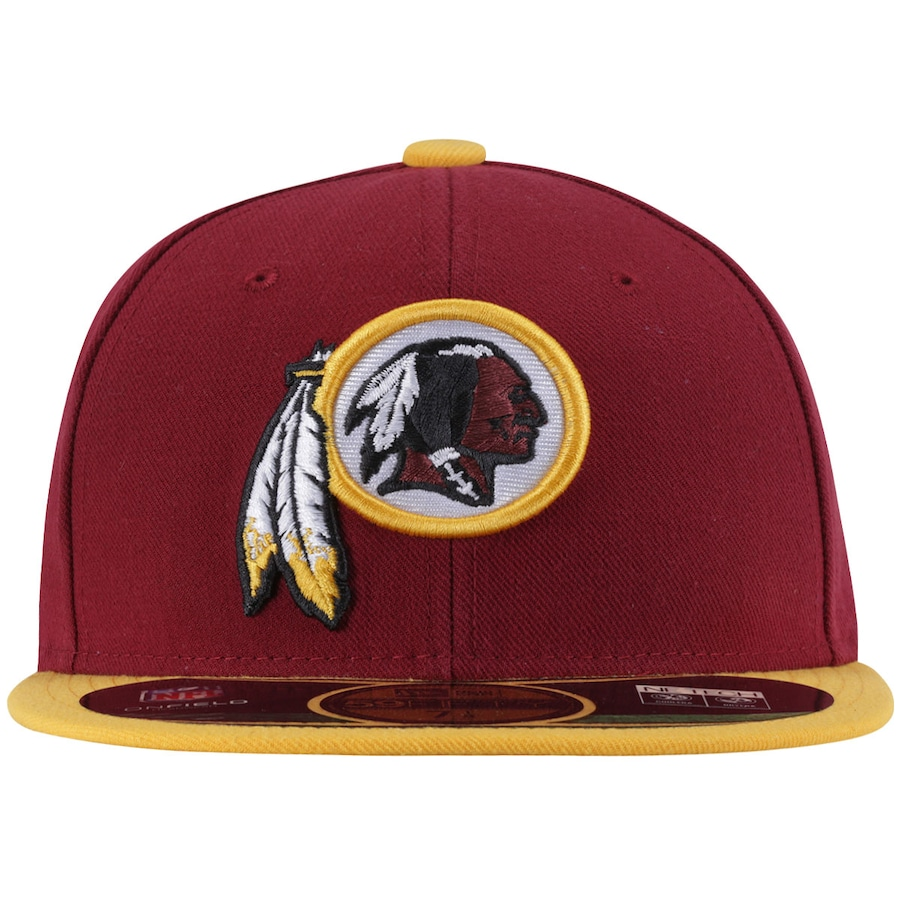 Boné Aba Reta New Era Washington Redskins NFL - Fechado 09e0c84325e