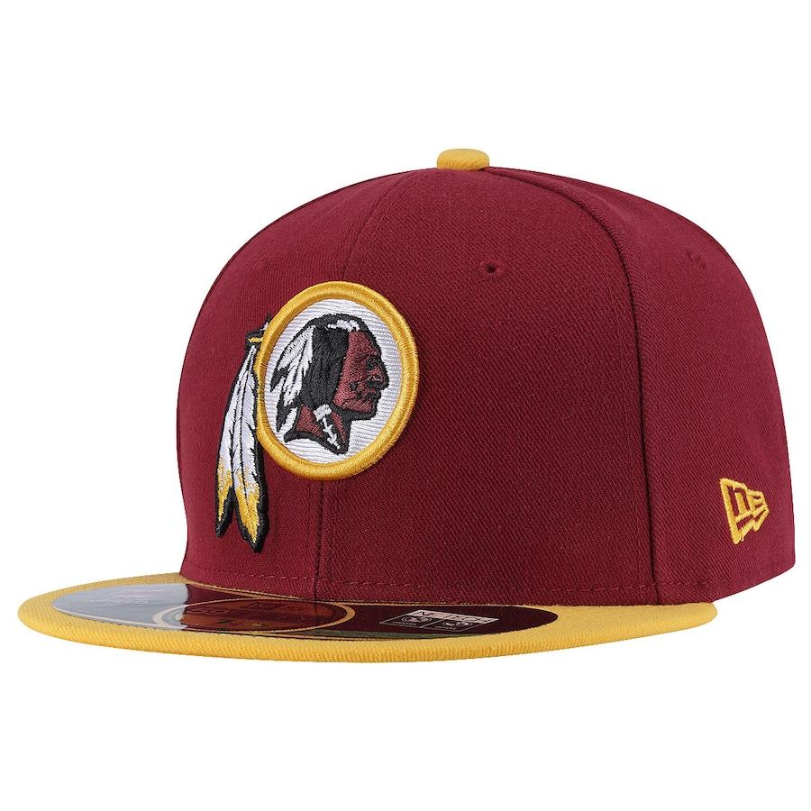 ... Boné Aba Reta New Era Washington Redskins NFL - Fechado - Adulto ... f817036f5af