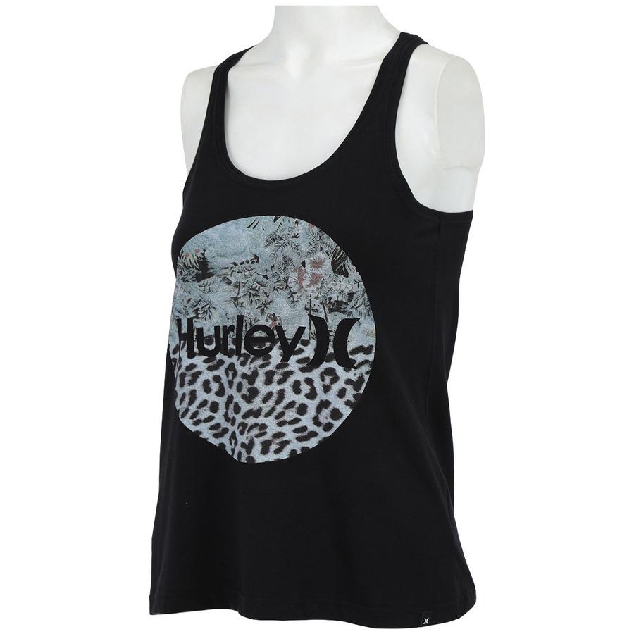 ... Camiseta Regata Hurley Flammo - Feminina ... 5fbeedcdcc5