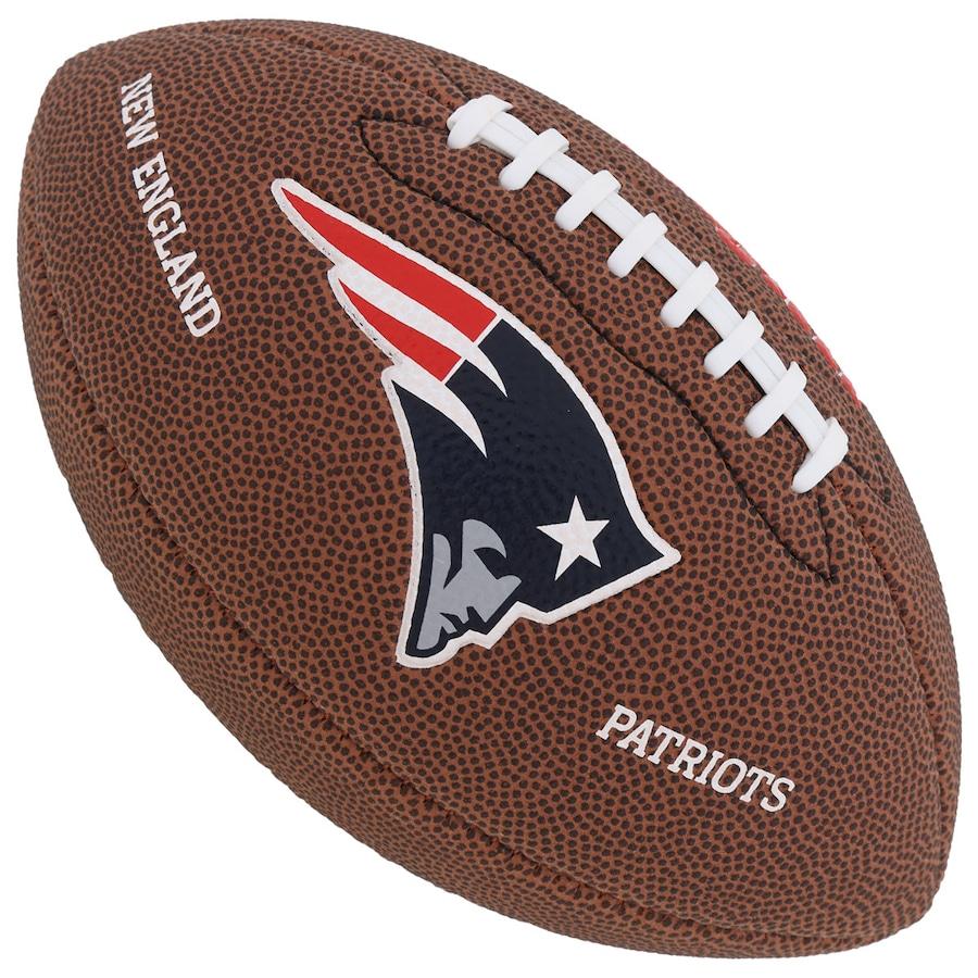 Bola de Futebol Americano Wilson NFL NE Patriots 8dc7ebf6184