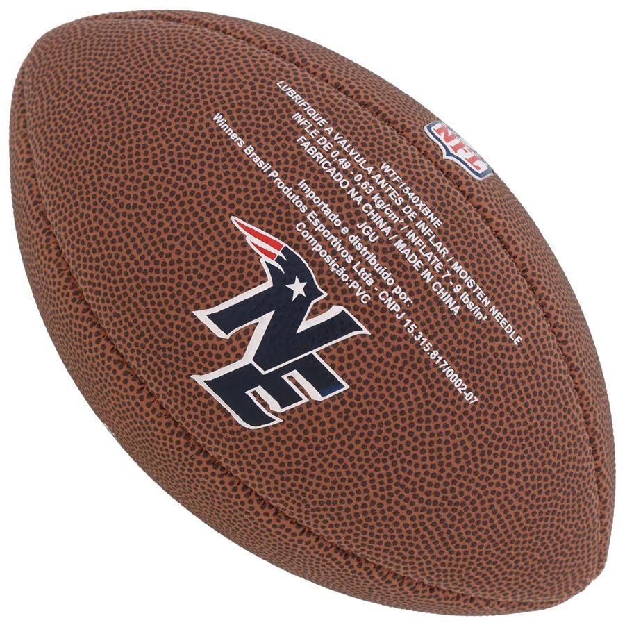 ... Bola de Futebol Americano Wilson NFL New England Patriots ... af6e6a720e6
