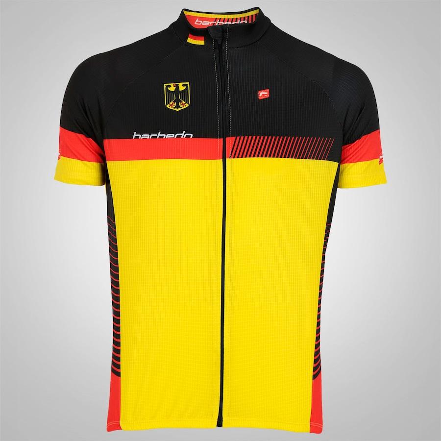 Camisa de Ciclismo Barbedo Classic Alemanha – Masculina 38804a106eca8
