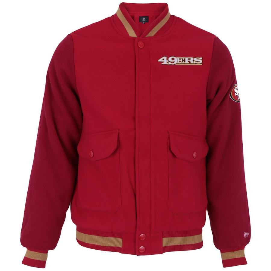 Jaqueta College New Era San Francisco 49ers - Masculina acf96b5342def