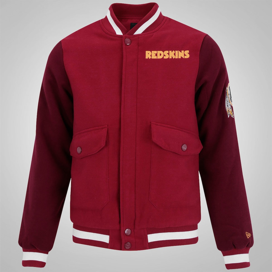 47e1a115dcc52 Jaqueta College New Era Washington Redskins - Masculina