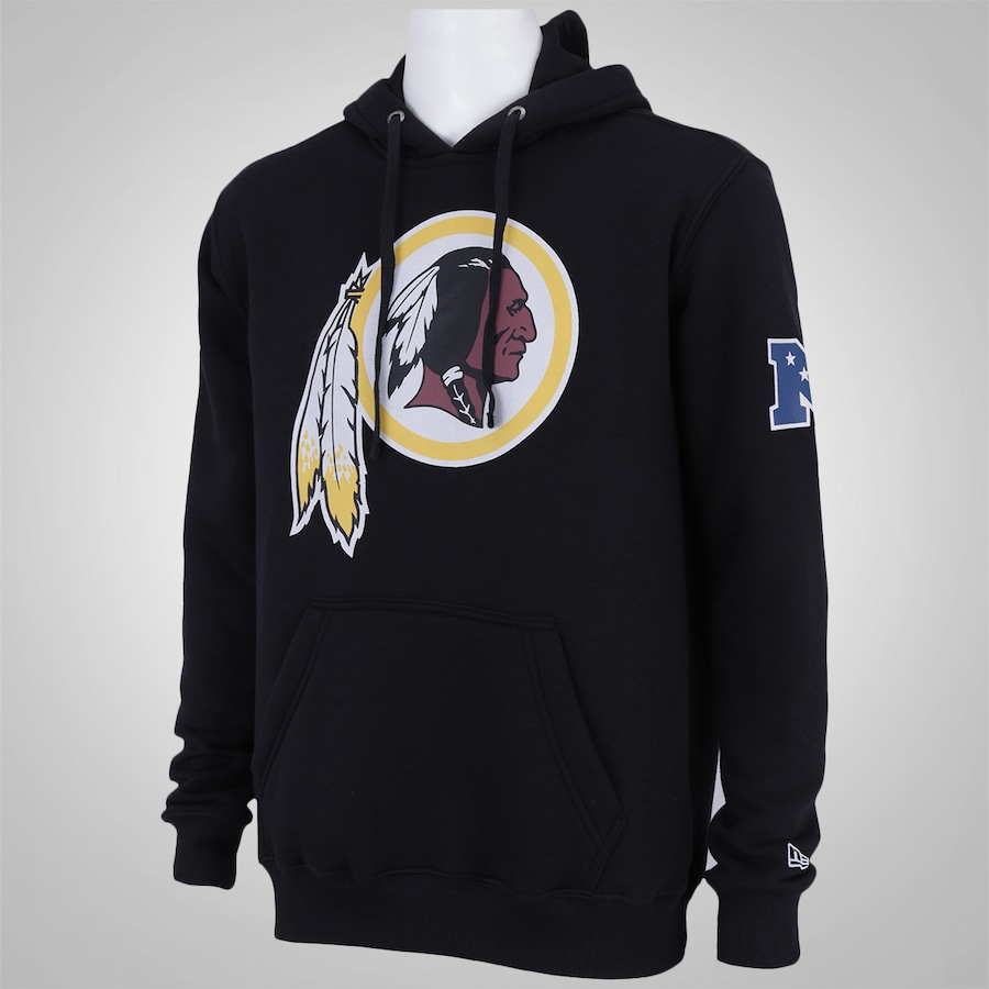 ad593511bee6c ... Blusão com Capuz New Era Washington Redskins - Masculino ...